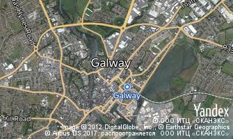 Map of Galway